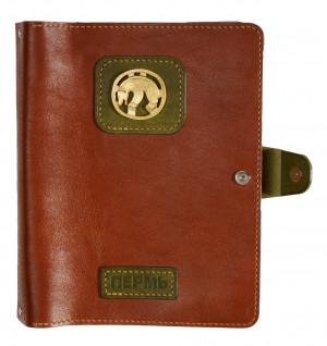 Кожаный ежедневник на кольцах «Пермский звериный стиль»