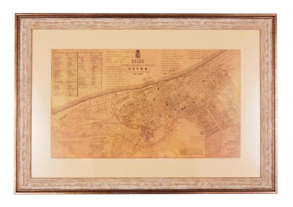 План губернского города Перми
