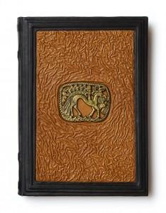 Книга о Пермском зверином стиле в кожаном переплёте