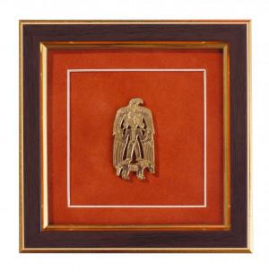 Крылатая богиня на коне с орлом за плечами. 12×12