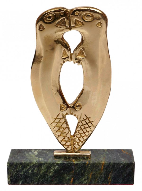 Статуэтка пермского зодиака Бобры