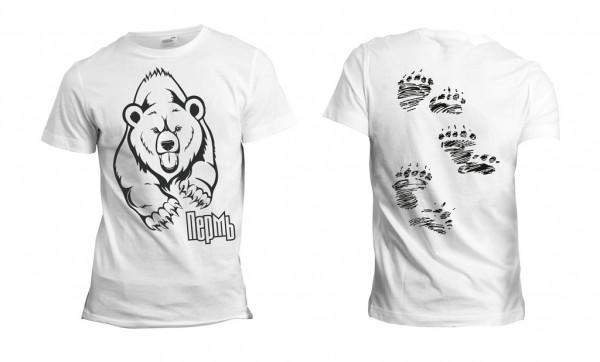 Сувенирная футболка «Пермский медведь»