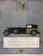 «Кадиллак», 1930. Это была великая эпоха роскошных автомобилей, к которым относился и 16-цилиндровый «Кадиллак», показанный на иллюстрации. «Это были самые грандиозные, самые потрясающие автомобили, когда-либо ездившие по американским дорогам», — писал один историк. В 1927 году «Кадиллак» получил настолько широкое признание за его высокое качество и совершенство конструкции, что в его рекламе требовалось всего лишь не-сколько слов, чтобы рекомендовать публике эту машину. В 20-е годы автомобили высшего класса состав-ляли пять процентов от реализованных на рынке машин всех марок, но они полностью исчезли из про-дажи в период Великой депрессии.