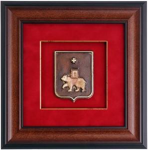 Панно с гербом Перми